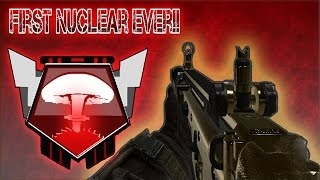 call of duty black ops 2 my first nuclear ever!!  funny reaction XD