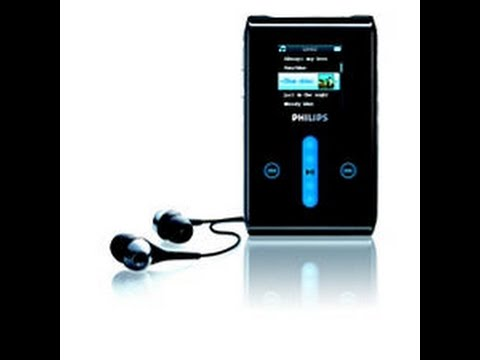 Look Back AT Philips: GoGear Jukebox HDD1630  MP3 PLAYER