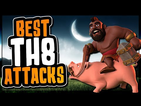 BEST TOWN HALL 8 ATTACK STRATEGIES | Clash of Clans
