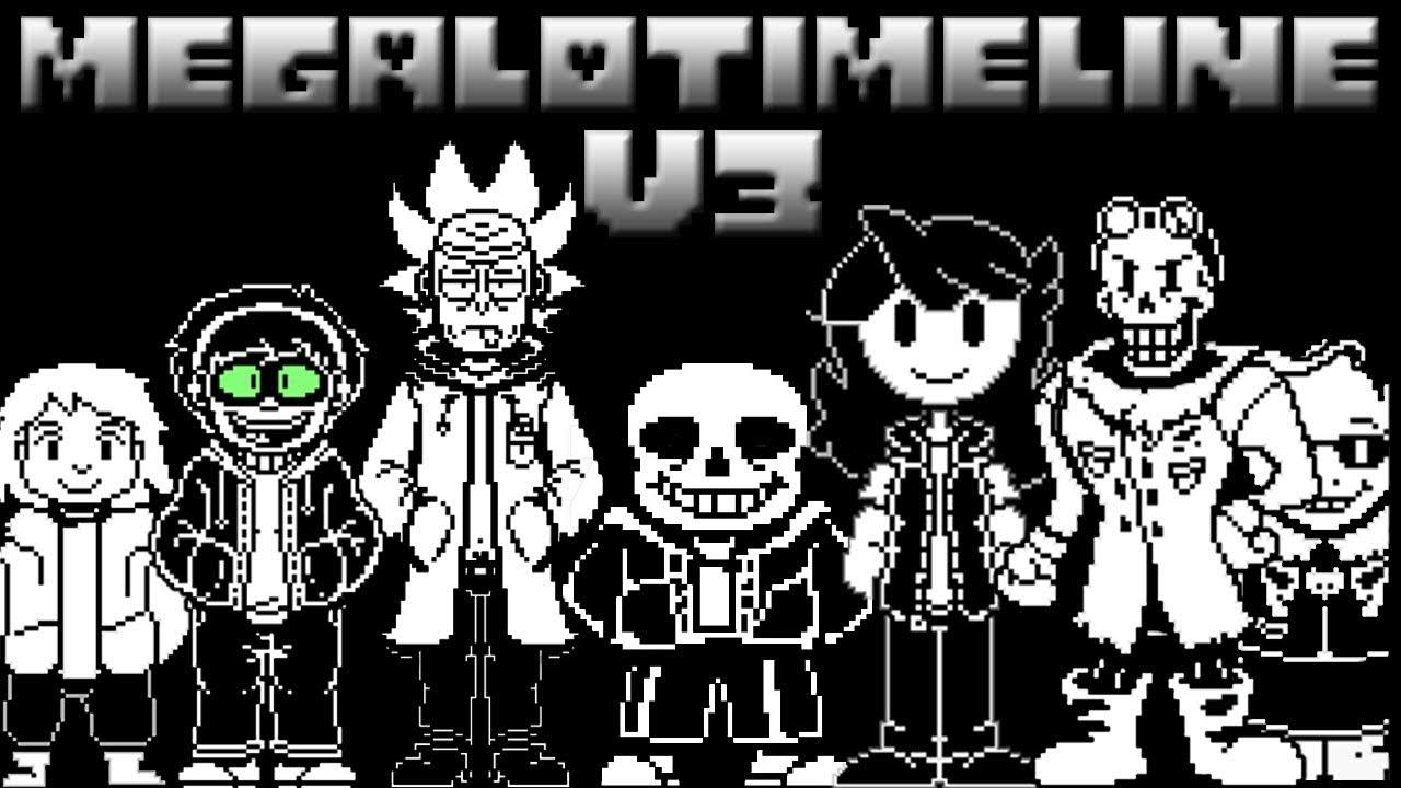 Megalotimeline V3 Megalovania Aus V4 Youtube