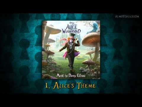 Alice in Wonderland Soundtrack  // 01. Alice's Theme (+ Lyrics)