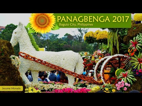 Panagbenga Flower Festival 2017 Grand Float Parade Baguio City