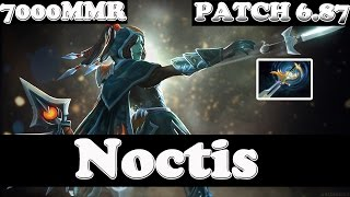 Dota 2 - Patch 6.87 - Noctis 7000MMR Plays Phanton Assassin WITH ECHO SABRE - Ranked Match Gameplay