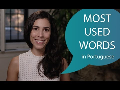 100 most used words in Portuguese 210
