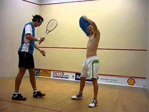 175 mph Squash Ball vs Back