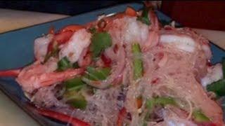 C/w Nana: Lao Shrimp Salad (ຍຳກຸ້ງ == Yum Goong)