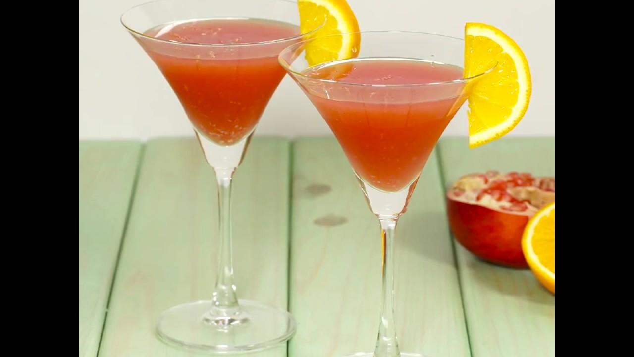 How to Make Tangerine Ginger Margarita - YouTube