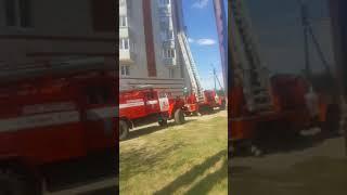 Пожар в Йошкар-Оле