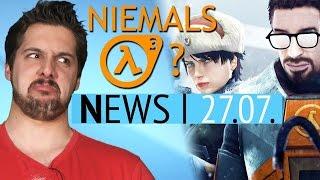 Schlechte Nachrichten zu Half-Life 3 - Freie Liebe in Fallout 4 - News