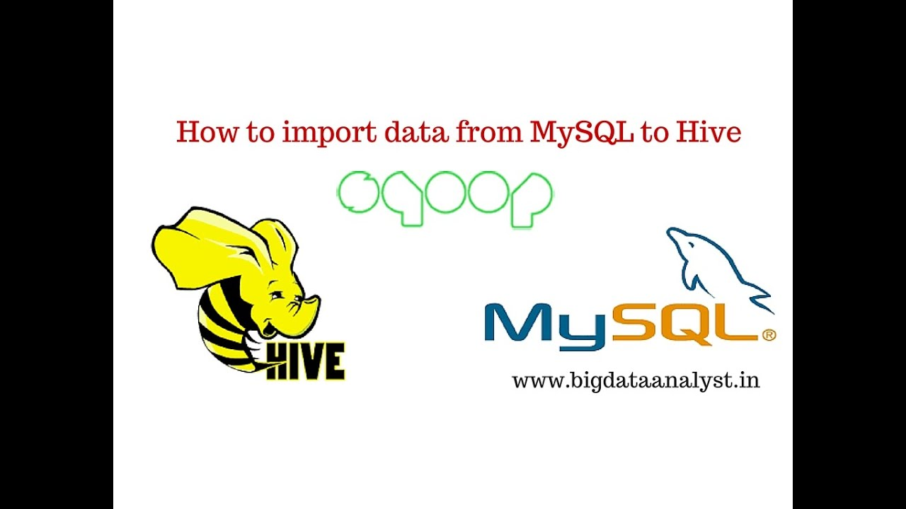 Sqoop 5: How to import mysql data into Hive directly