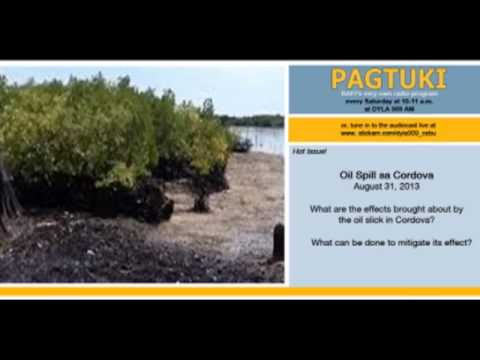 Aug. 31, 2013 Pagtuki - Oil Spill in Cordova (Part 2)