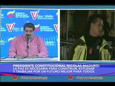Maduro repudia el asalto a la embajada de Venezuela en Washington por la policía