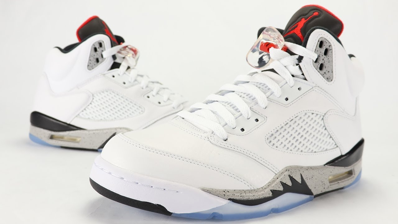 Air Jordan 5 White Cement Review + On Feet