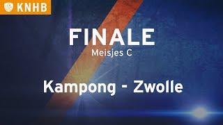 Finale NK Zaal: Kampong MC1 - Zwolle MC1