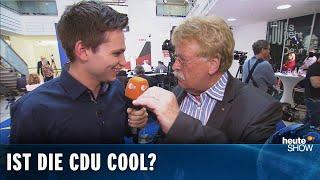 Fabian Köster vs. Elmar Brok auf der CDU-Europawahlparty