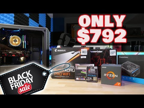 AMAZING Gaming PC for UNDER $800 | Black Friday Build |