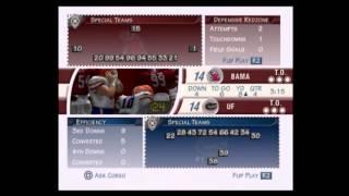 NCAA Football 2002 Florida vs Alabama Part 2