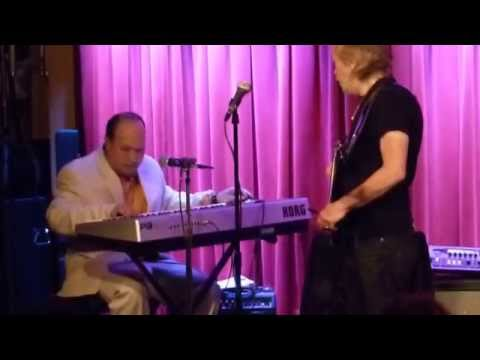 Harvey Mandel plays finale at Harvey Mandel Benefit 5-3-14