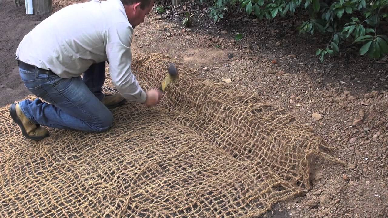 How to install Coir Matting by All Stake Supply