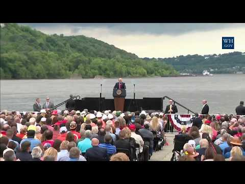 WATCH: President Donald Trump Gives Remarks on His Infrastructure Initiative