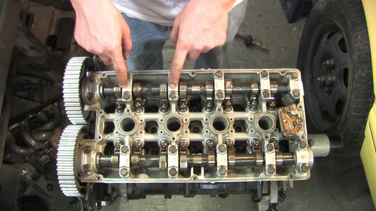 cylinder head 101 - remove cams rockers  u0026 lifters