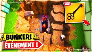 🔴 EVENT A BUNKER SECRET APPEAR A LOOT LAKE ON FORTNITE!