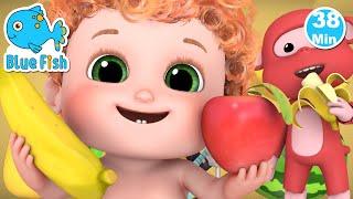 Apples and Bananas Song | Jugnu Kids Nursery Rhymes and Baby songs for Kindergarten
