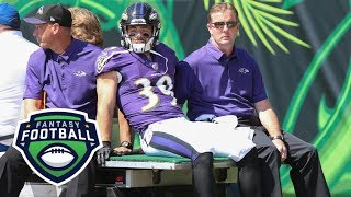 Which Ravens RB stands to benefit from loss of Woodhead? | Fantasy Focus | ESPN