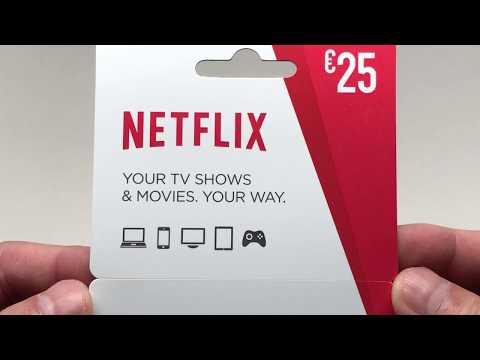 Netflix Gift Card in 4K