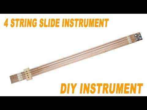 4 String Slide Stick \\ Stefan's DIY Corner
