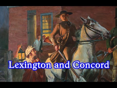 History Brief: Lexington and Concord
