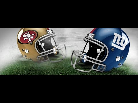 NFL Fever 2003 - Xbox 2002 (2002 Dynasty Season Week 1 NYG vs SF)