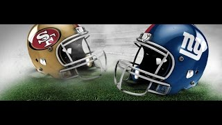 NFL Fever 2003 - Xbox 2002 (2002 Dynasty Season Week 1 NYG vs SF)
