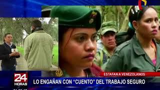 Venezolano es estafado bajo la modalidad de trabajo laboral
