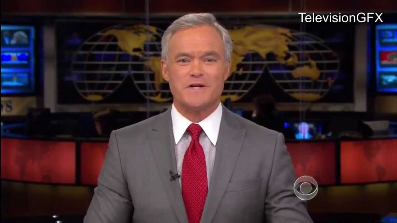 cbs evening news opening and ending western edition youtube