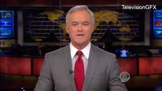 CBS Evening News Opening and Ending (Western Edition)