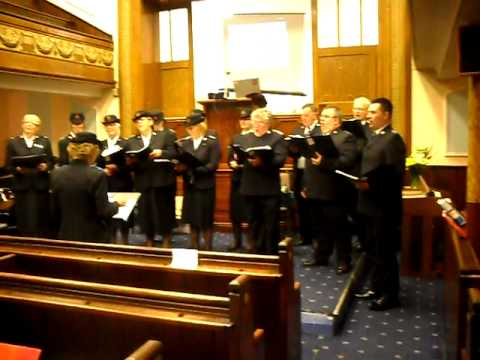 Pentre Citadel Songsters - To God Be The Glory.AVI