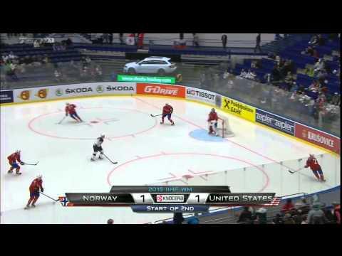 IIHF 2015 World Championship Norway Vs. Usa 02.05.2015