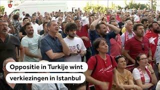 Historisch verlies Erdogan in burgemeestersverkiezing Instanboel