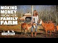 17 Year Old's Secret - How She Built a Successful Family Farm Business