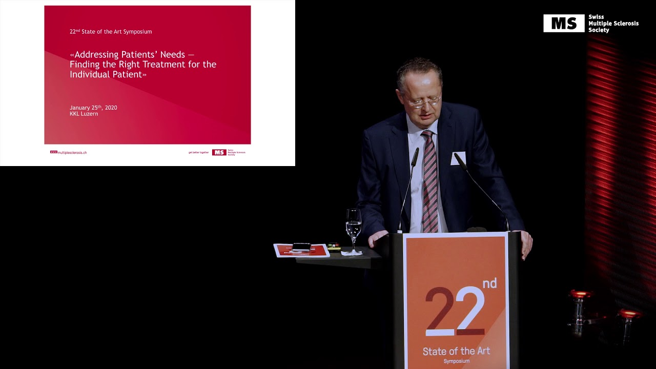 22nd State of the Art Symposium – Christoph Lotter: Addressing Patient's Needs