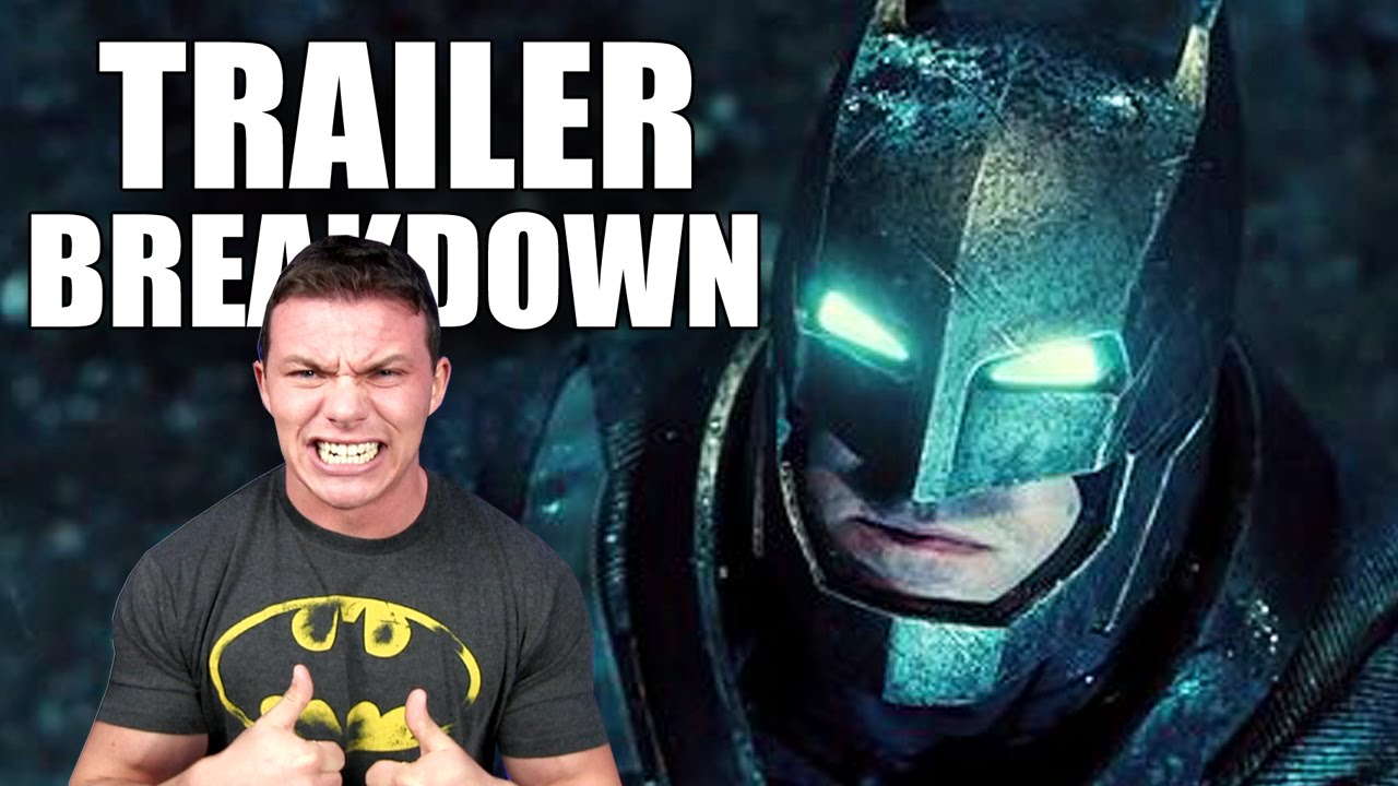 BATMAN V SUPERMAN: Dawn of Justice Trailer Breakdown!