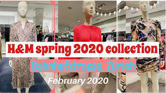 #NewCollection #SpringCollection H&M Zürich Spring Collection, February 2020