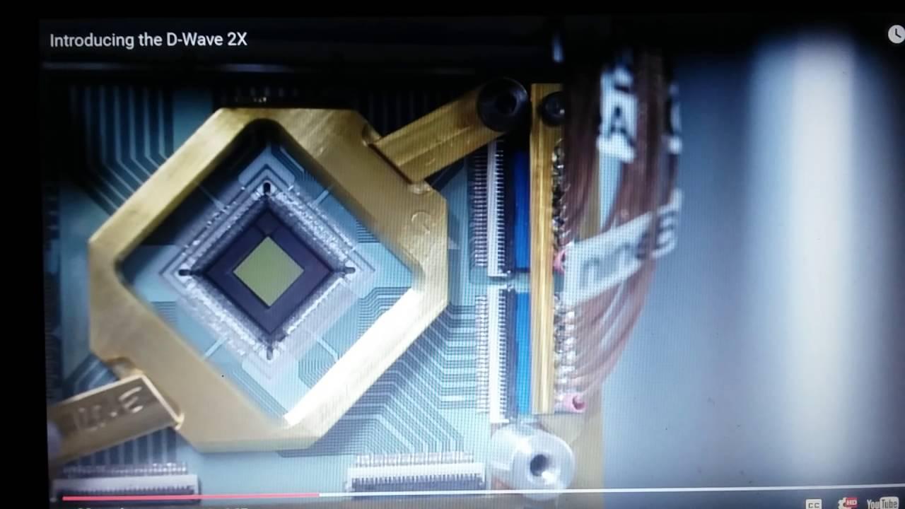 Latest Quantum computer D-Wave 2X Specs