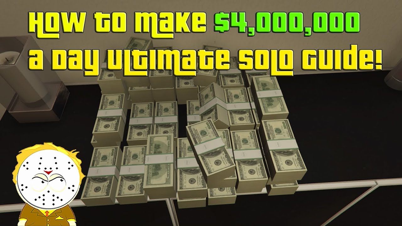 Download GTA Online How To Make $4,000,000 In One Day! Ultimate Solo Money Guide