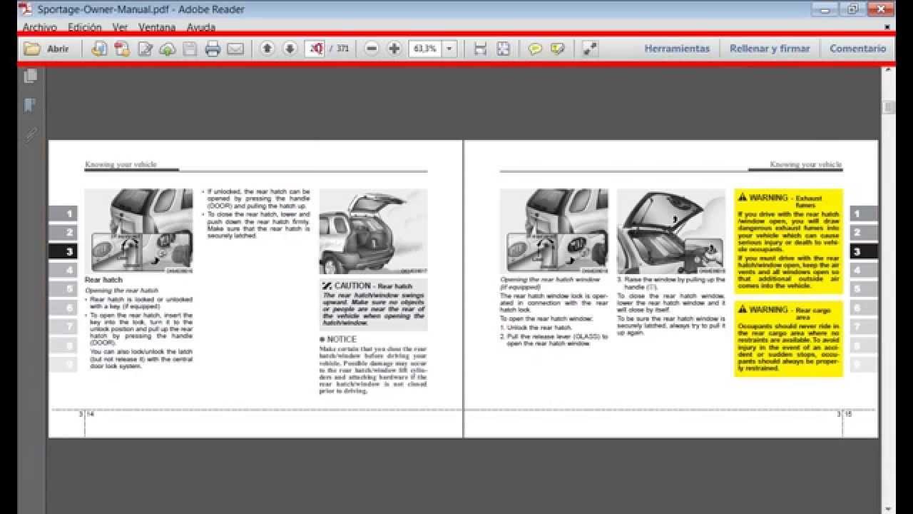 manual de usuario kia sportage 2008