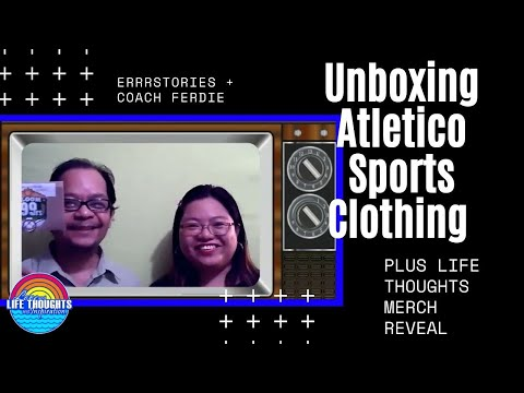 UNBOXING Atletico Sports Clothing + Youtube Merch Revealed