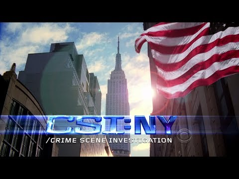CSI - NY - intro - remix (реакция моего малыша☺)