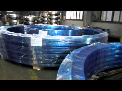 SHM wind flange (Shin heung machinery, busan) wind flange, forged metal products