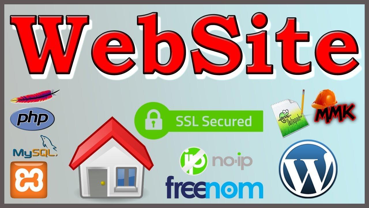 Create Website - Make Website with Home Web Hosting & SSL